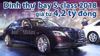 Chi tiết DINH THỰ BAY Mercedes S450L, S450L Luxury và Maybach S450 giá 4,2 -7,2 tỷ đồng