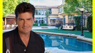 Charlie Sheen House Tour $10000000 Beverly Hills Mansion Luxury Lifestyle 2018