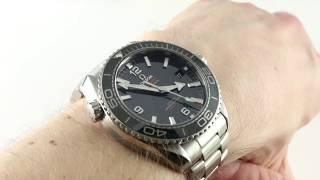 Omega Seamaster Planet Ocean 600m Co-Axial 215.30.44.21.01.001 Luxury Watch Review