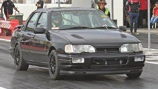 Ford Sierra Sapphire Cosworth 4x4 at Hal Far Raceway