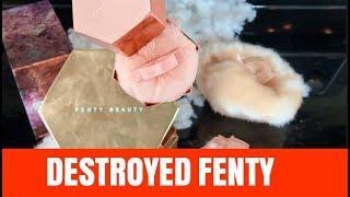 DESTROYING FENTY BEAUTY FAIRY BOMB