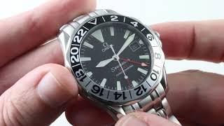 Omega Seamaster Diver 300m GMT 2534.50.00 Luxury Watch Reviews