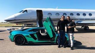 Flying Private Jet to Buy New Lamborghini Hypercar