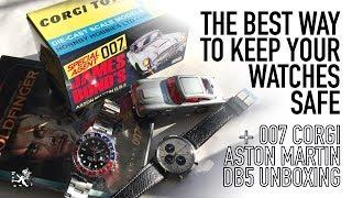 The New 007 Revealed! - How To Keep Your Luxury Watches Safe & DB5 Aston Martin Unboxing