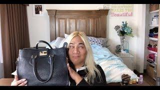 $1500 LUXURY BAG THRIFTED FOR $7.99 HAUL LUSH CLINIQUE LULULEMON COACH DANIER HOOVER