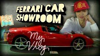 Showroom ng Ferrari Luxury Cars - Hanggang tingin ka na lang | OFW Nanny Vlog