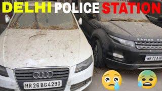 ABANDONED Most Expensive Luxury Cars in Delhi |Mandir Marg Police Station| INDIA | Part 1- Fast Car