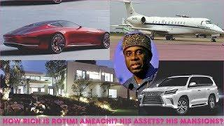 how rich is Rotimi Ameachi? ► All Ameachi's Private Jets, House, Cars, Companies & Luxuries