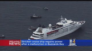 Luxury Cruise Ship Stranded In Buzzards Bay