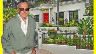 Stan Lee House Tour $4400000 Hollywood Hills Luxury Lifestyle 2018