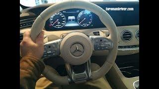 NEW Super Luxury Mercedes Benz S63 AMG 2019 Interior and Exterior Tour Review EuromanDriver