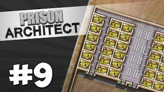 Prison Architect Modded #9 - LUXURY CELL BLOCK