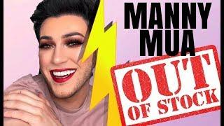MANNY MUA PALETTE OUT OF STOCK TRISHA PAYTAS HAS A BREAKDOWN