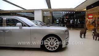 Rolls Royce and Bentley: luxury cars at Siam Paragon in Thailand
