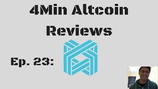 4Minute Altcoin Reviews Ep. 23: LUXCOIN (LUX)