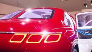 Vision Mercedes-Maybach Ultimate Luxury in Peking vorgestellt.