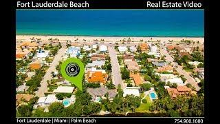 South Florida Luxury Beach Front Video | Drone Real Estate Walk Through