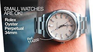 Perfect first Rolex, or Everyday Rolex - Rolex Oyster Perpetual 34mm Ref. 114200