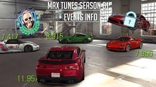CSR Racing 2 | Max Tunes Season 61 Cars (Saleen 7.9!) + Halloween Cars to use & Salzburg Unlock!