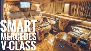 Most Luxury Mercedes V-Class AMG Business Lounge
