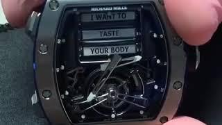 "$750k ""Erotic Tourbillon"" The Richard Mille RM69"
