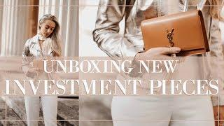 LUXURY SPRING INVESTMENT PIECES UNBOXING // Prada, Valentino, Saint Laurent   |   Fashion  Mumblr