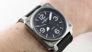 Bell & Ross Instrument BR 03-92 (BR0392-BLC-ST) Luxury Watch Review