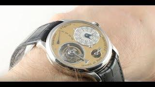 F.P. Journe Tourbillon Remontoir Gen 1, Series 4 Luxury Watch