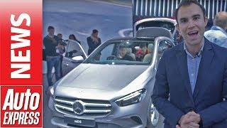 New Mercedes B-Class - Mercedes shows that the MPV is still alive
