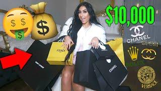SPENDING $10K IN 10 MINUTES! LUXURY SHOPPING HAUL
