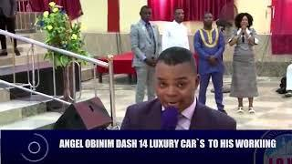 CHECK ALL THE  14 LUXURY CARS ANGEL OBINIM DASH TO HIS WORKERS