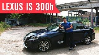 Suhanó luxus négy keréken... Lexus IS 300h teszt I Schiller TV I Tesztközelben #32