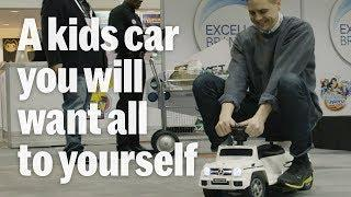 Moderno luxury cars for kids are LIT