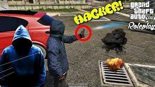 HACKER, FURAM BANI!  • GTA 5 REAL LIFE