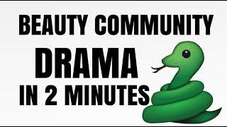 BEAUTY COMMUNITY DRAMA IN 2 MINUTES GIRL