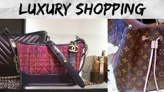 Luxury Shopping Vlog | Chanel, Louis Vuitton, Celine, Gucci & Balenciaga (ENG SUB)