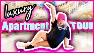 MY LUXURY APARTMENT TOUR! | Lauren Godwin
