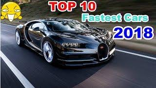 Top 10 Fastest Production Cars Of 2018▶ Car Crash