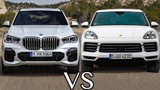 BMW X5 Vs Porsche Cayenne (2019) - Luxury SUV Battle
