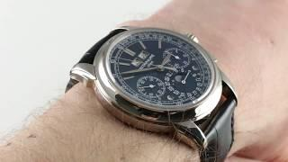Patek Philippe Grand Complications Perpetual Calendar 5270G-019 Luxury Watch Review