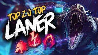 Top 20 TOP LANER Plays #14 | League of Legends