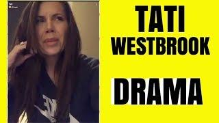 TATI WESTBROOK CRYING OVER HOW SHE FEELS