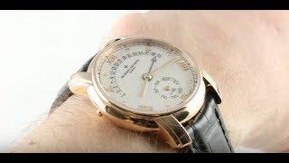 Vacheron Constantin Patrimony 31-Day Retrograde 47245/000R-8775 Luxury Watch Review