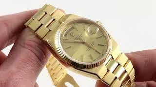 Vintage Rolex Oysterquartz Day-Date 19018 Luxury Watch Review