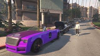GTA 5 Livestream PS4 - LUXURY CAR MEET