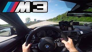 BMW M3 F80 | Autobahn TEST Drive ✔