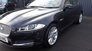 USED JAGUAR XF 2.2 D PREMIUM LUXURY 4d AUTO 190 BHP