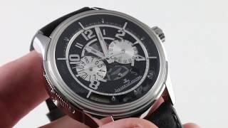 Jaeger-LeCoultre Amvox 2 DBS Chronograph Aston Martin Limited Edition Q1928470 Luxury Watch Review