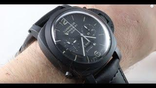 Panerai Luminor 1950 Ceramica Monopulsante GMT 8 Days PAM 317 PAM00317 Luxury Watch Review