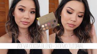 ZOEVA COCOA BLEND •  3 Looks, Review & Swatches